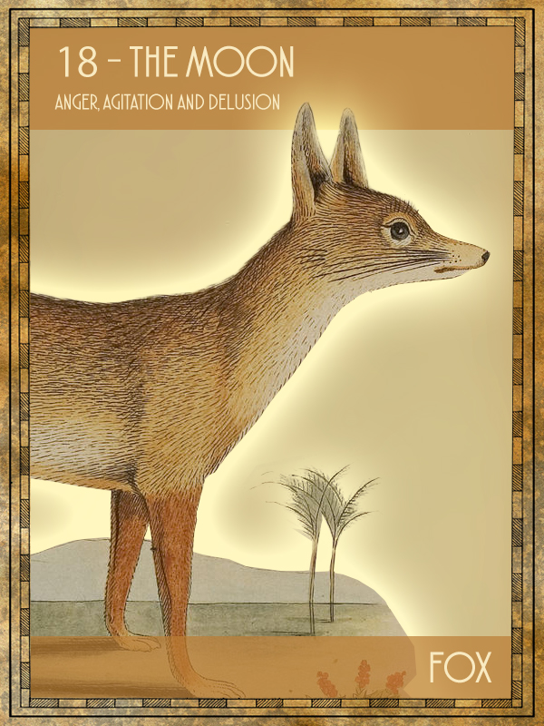 Animal Tarot Fox