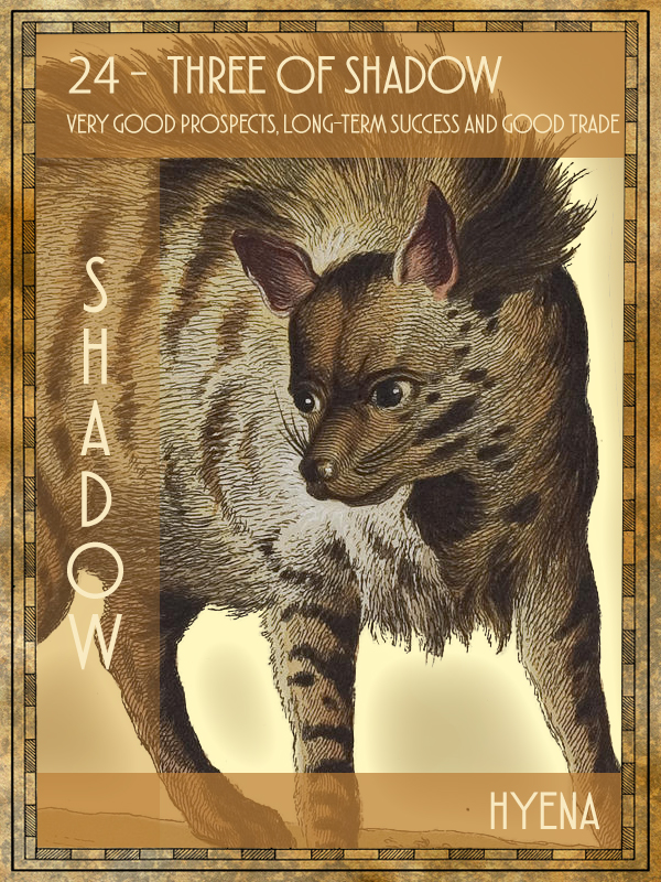 Animal Tarot Hyena