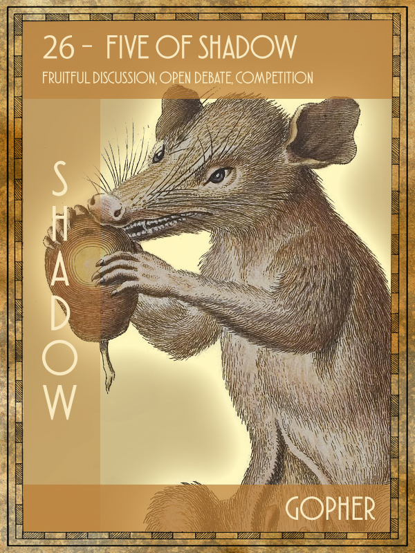 Animal Tarot Gopher