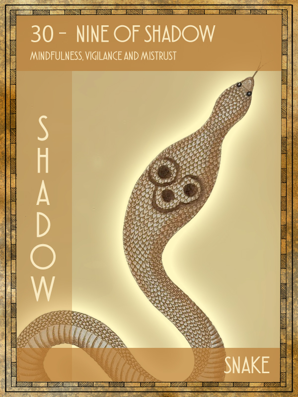 Animal Tarot Snake