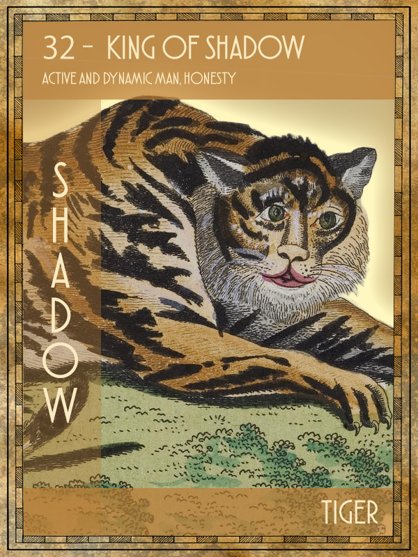 Animal Tarot Tiger