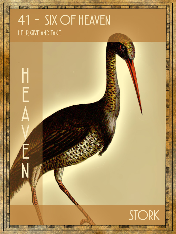 Animal Tarot Stork