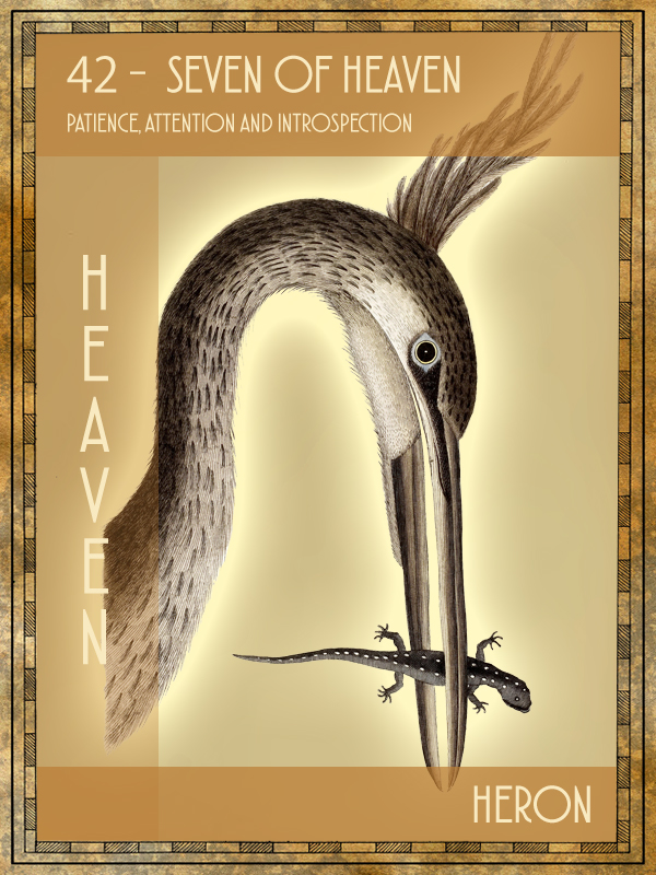 Animal Tarot Heron