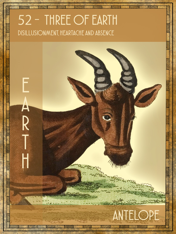 Animal Tarot Antelope
