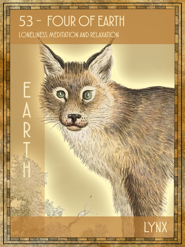 Animal Tarot Lynx