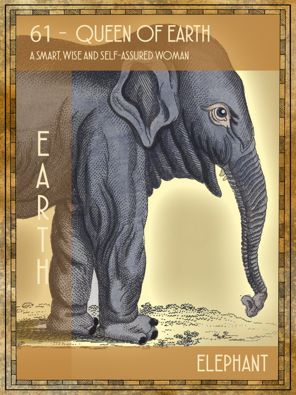 Animal Tarot Elephant