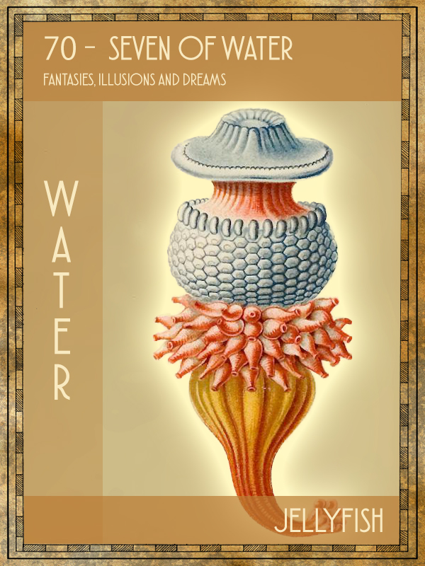 Animal Tarot Card:  Jellyfish