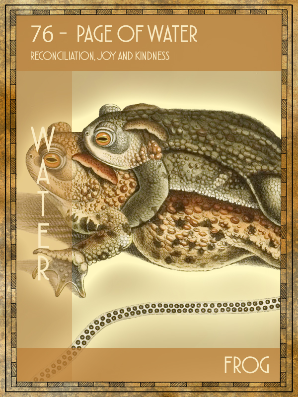 Animal Tarot Frog