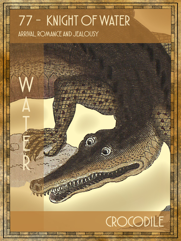 Animal Tarot Crocodile